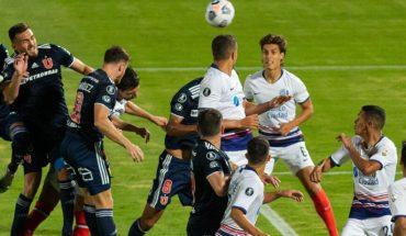 Libertadores: La U no supo mantener la ventaja y empató 1-1 con San Lorenzo
