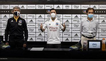 Martín Rodríguez fue presentado como nuevo refuerzo de Colo Colo