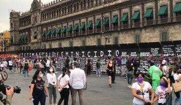 Mujeres protestan contra feminicidios en estados y CDMX