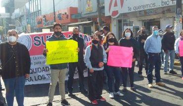 SUTICATMI cumple y cierra vialidades en Morelia