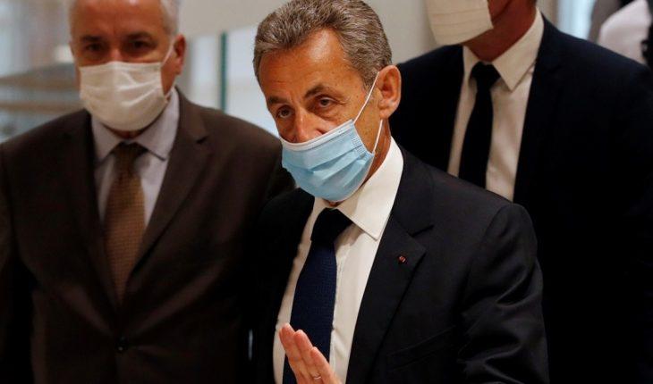 Sarkozy, condenado a 3 años de prisión por corrupción y tráfico de influencias