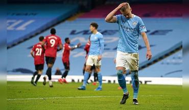 Tenía que ser en un clásico: United corta la racha del City en el derbi de Manchester