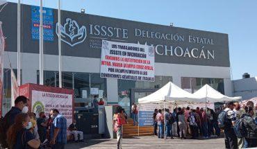 Trabajadores y derechohabientes del ISSSTE demandarán a subdelegada