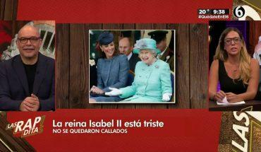 ¡La Reina Isabel no se queda callada!   Las Rapiditas