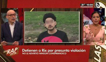 ¿Qué pasará con Rix después de su detención? | Las Rapiditas