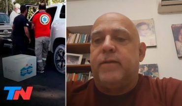 Chocó el ministro de Salud de Corrientes: en su auto llevaba vacunas Sputnik V
