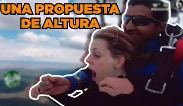 Le piden matrimonio en las nubes | La Bola del 6