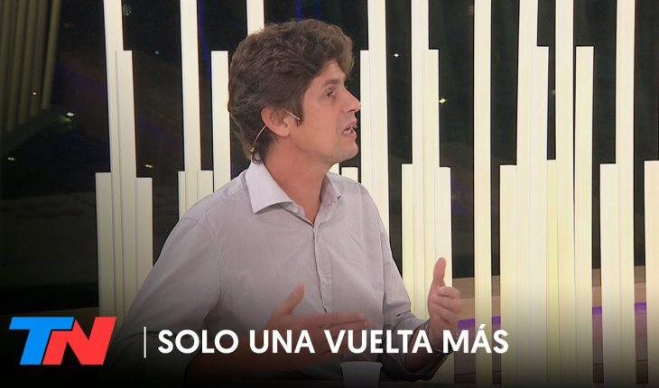 Martín Lousteau en SÓLO UNA VUELTA MÁS