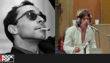 su película donde The Rolling Stones graban una canción