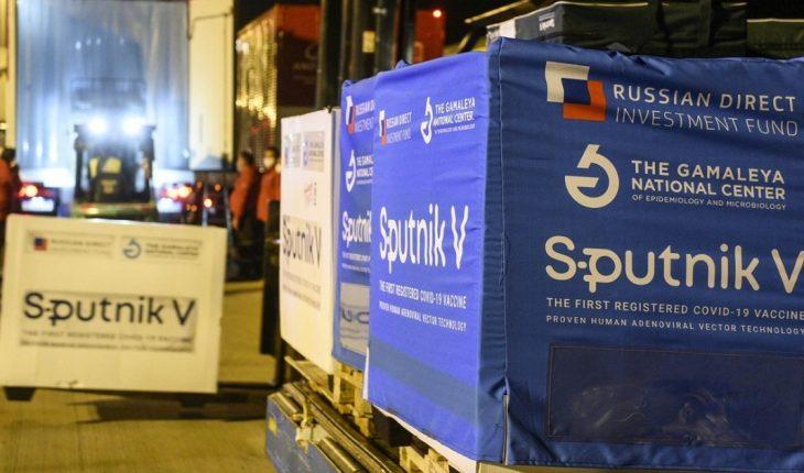 732,500 new doses of Sputnik V arrived