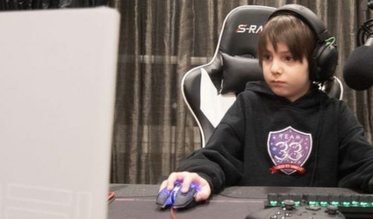 8-year-old is the youngest Fortnite professional in the world