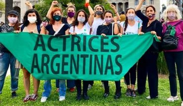 "Argentine actresses: ""March 8th we stop because our lives matter"""
