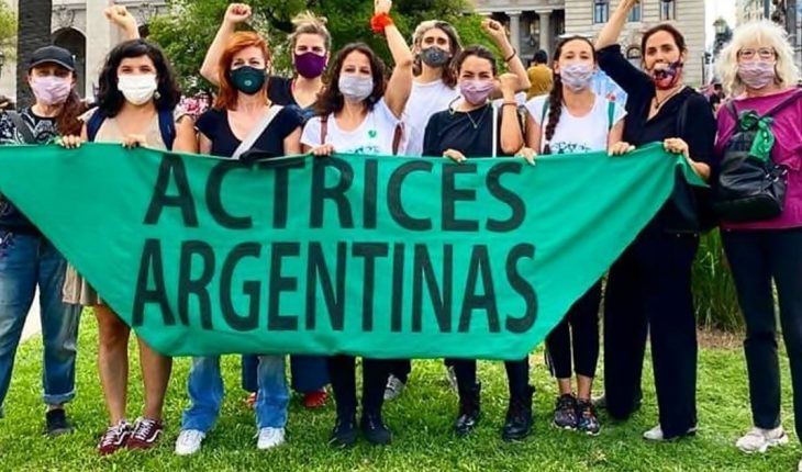 """Argentine actresses: """"March 8th we stop because our lives matter"""""""
