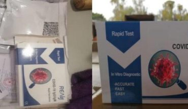 Authorities secomisate medical equipment and COVID tests at CDMX airport