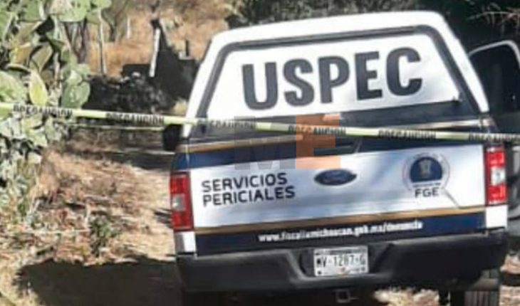 Baleado corpse is found in a gap of St. Angel Zurumucapio, Michoacán