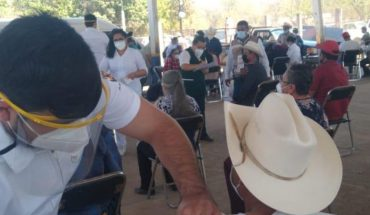 Before May guasave seniors will receive Covid-19 vaccine