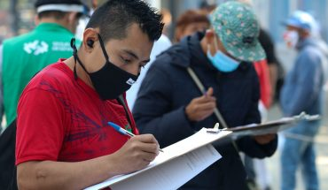 Between January and February, 163,000 IMSS-registered jobs were recovered