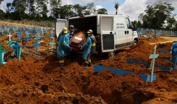 Brazil laments more than 2,800 deaths on the last day setting new record