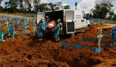 Brazil records new Covid-19 death record for second day in a row
