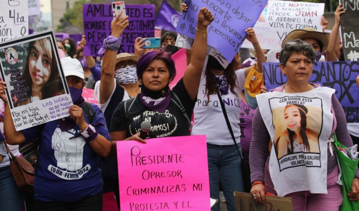 Collective asks AMLO to reject 'feminazi' word at conferences