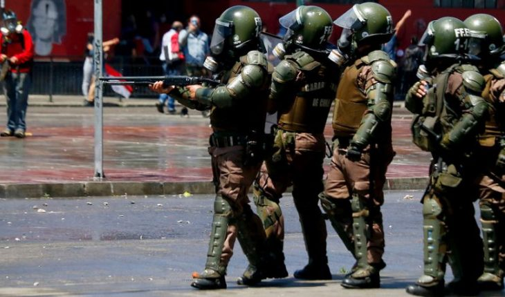 Contraloria concluded summary on Carabineros' actions in the social outburst