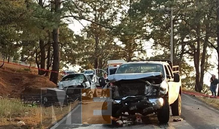 Couple dies pressed after unspoeous head-on crash
