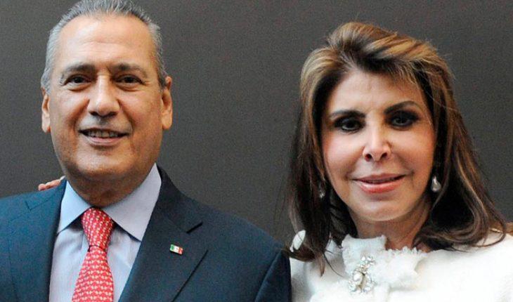 Ex-Senator Manlio Fabio Beltrones' wife dies