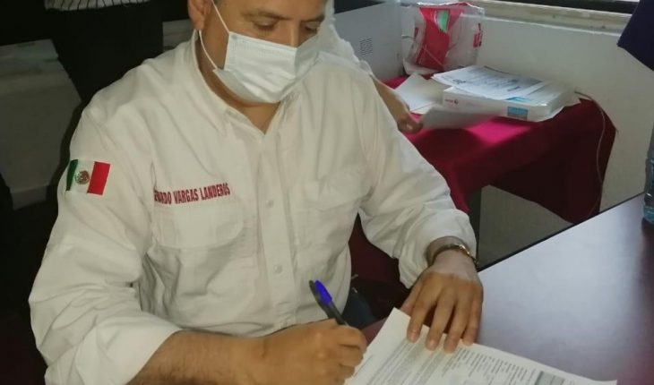 Gerardo Vargas registers for the mayor of Ahome with Morena