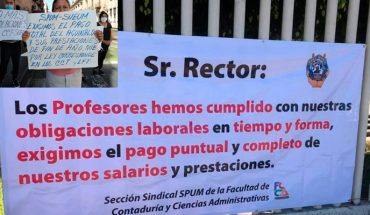 Governor of Michoacán and rector are desicced from debits at UMSNH