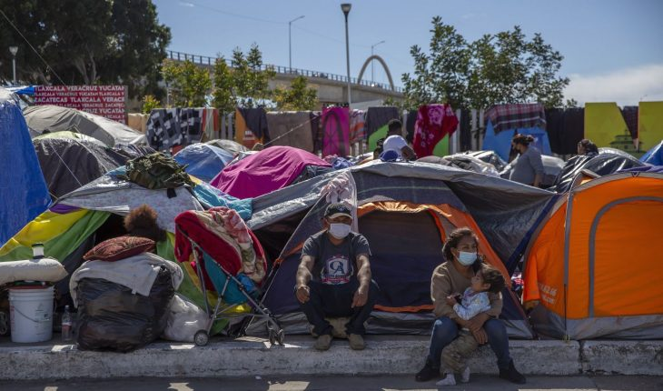 Guerrero families manage to cross into the US in order to 'Stay in Mexico'