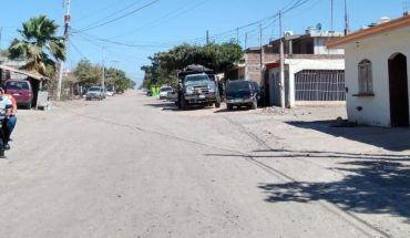 In colony National Unit of Guamúchil can not stand the dust