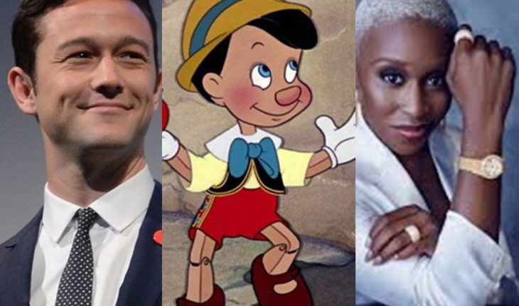 "Joseph Gordon-Levitt and Cynthia Erivo will be Pepito Grillo and the Blue Fairy in the live action of ""Pinocchio"""