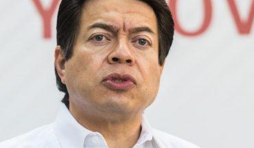 Mario Delgado warns that INE wants to download 60 Morena nominations