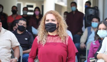 Michoacanas we celebrate the approval of the Dignified Menstruation: Maritere Espinoza