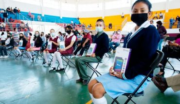 Morelia Government begins delivery of Education and Technology for Welfare program