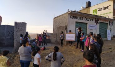 Morelia government and citizenship design Vicente Lombardo street project together
