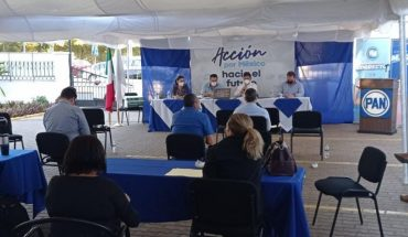 PAN defines pre-candidates for local mayors and deputies in Sinaloa