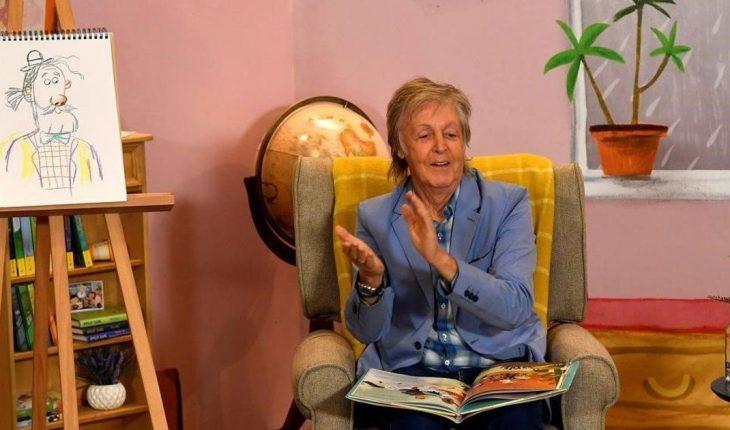 "Paul McCartney presents his second children's book: ""Grandude's Green Submarine"""