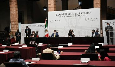 Promotes Michoacán Congress free access to menstrual management products