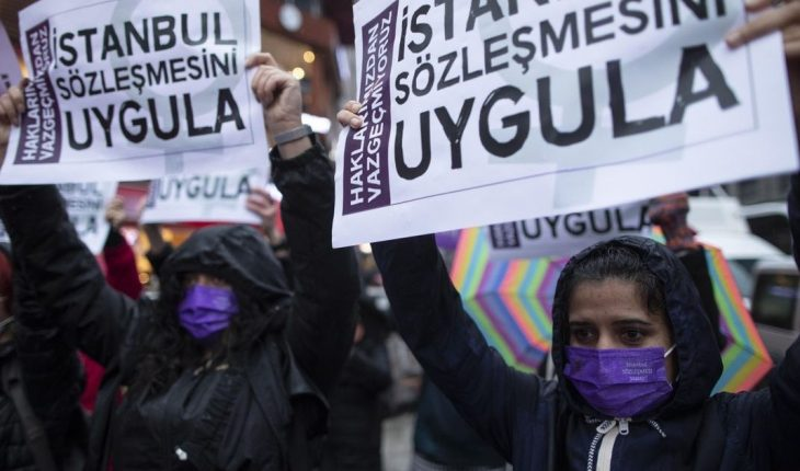 Protests in Turkey: Government withdrew from treaty against gender-based violence