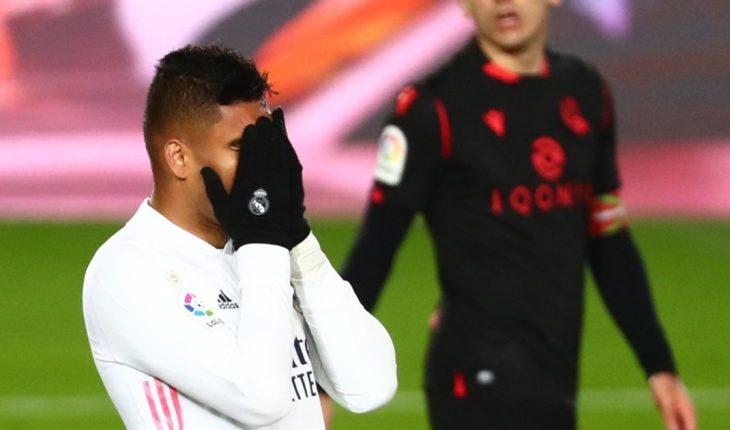 Real Madrid failed against Real Sociedad and celebrates Atletico Simeone