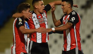 River flourished in Mendoza and beat Godoy Cruz with half a dozen goals