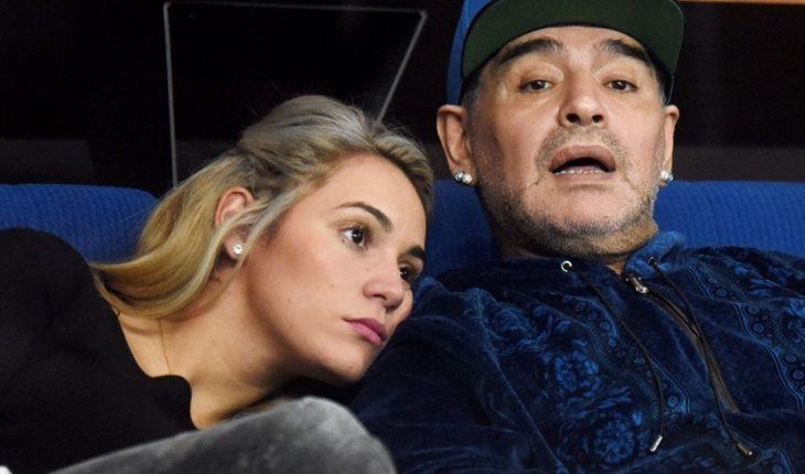Rocío Oliva: Write the memoirs of his years with Maradona