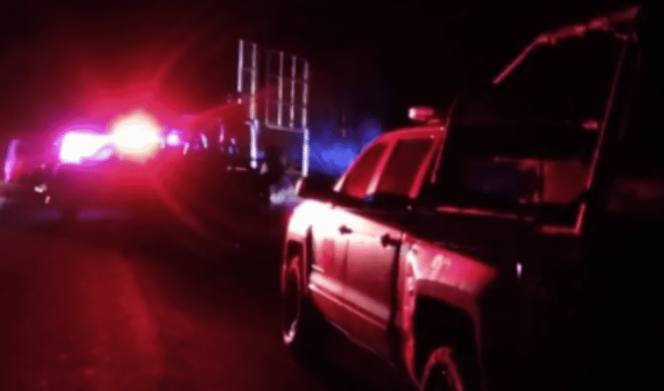 Shooting and burning vehicle sows terror in El Vado