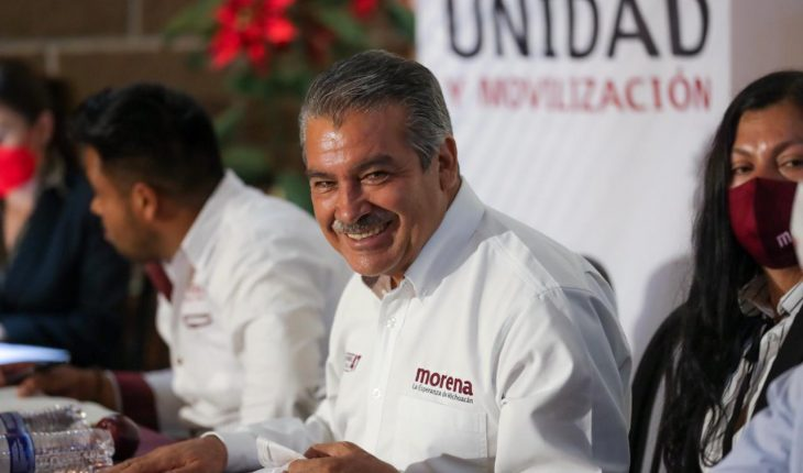 Strengthening 4T in Michoacán, firm and growing: Raúl Morón