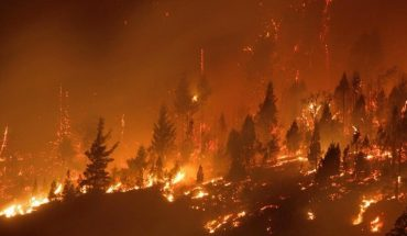 There are 12 people missing and 200 homes burned after the fires in Chubut