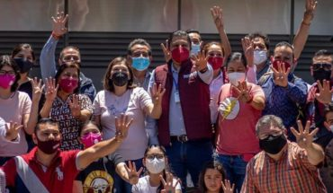 They manifest themselves in Michoacán against INE by candidacy of Morón