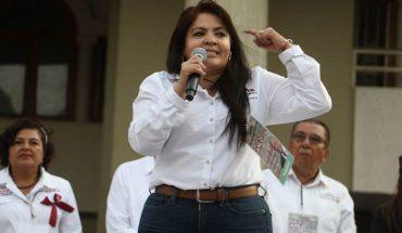 They showed no survey that Felix won candidacy: Nestora Salgado
