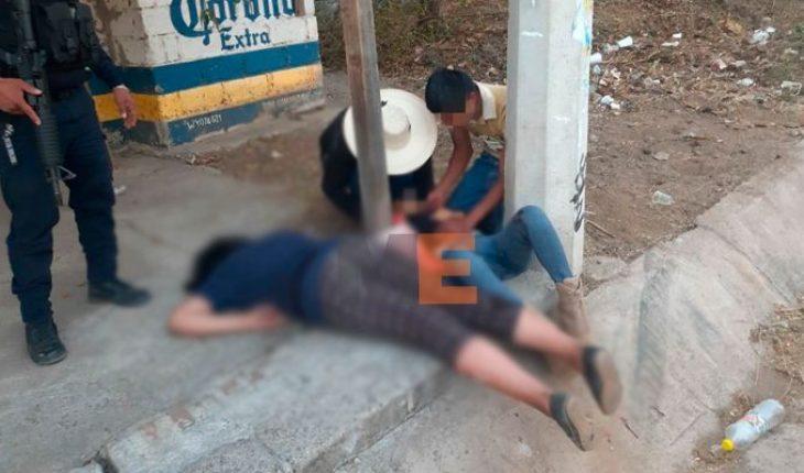 Atacan a balazos a dos jovencitas en Zirahuato, una muere al recibir atención médica