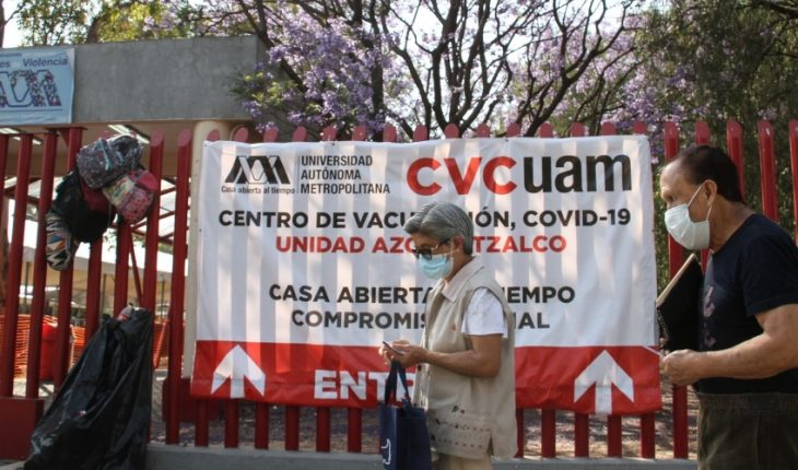 Vaccine ratio ruled out with adult death in CDMX